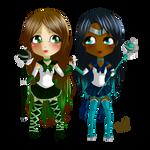 Commission - Lana and Katrina