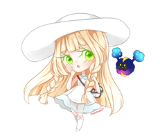 Miss Lillie, Lil' Nebby by MissElysium