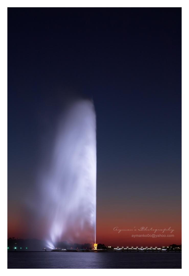 Jeddah's Fountain II by aymanko0o
