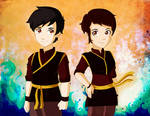 The legend of korra Mario And Diana