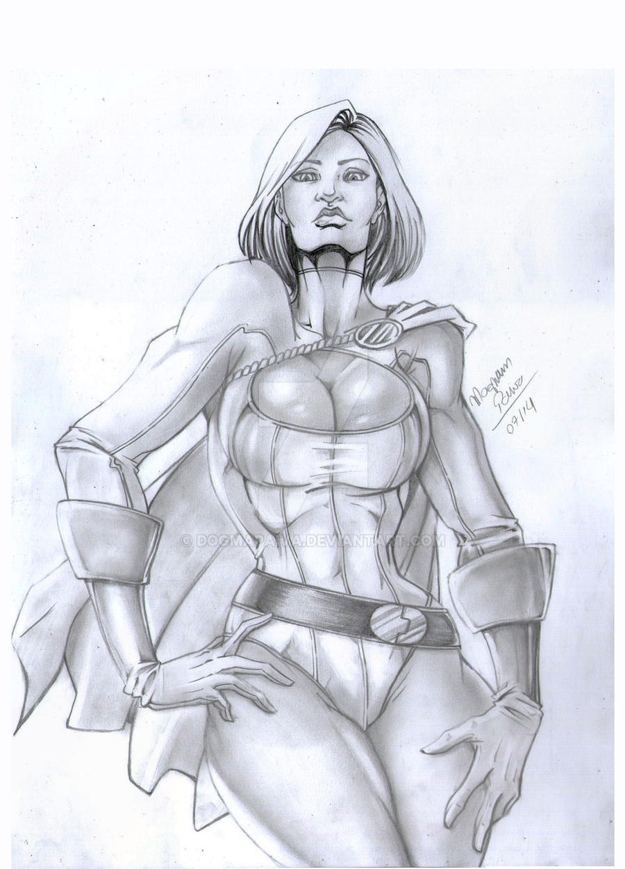 Power girl by dogmapaiva