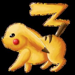 Pikachu :3 by Line-arts