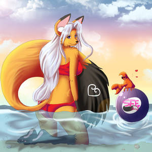 Foxy in Summertime fun Contest~