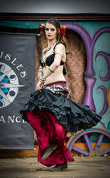 Minnesota Renaissance Festival Belly Dancer