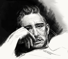 Lee Pace by GrayscaleArt