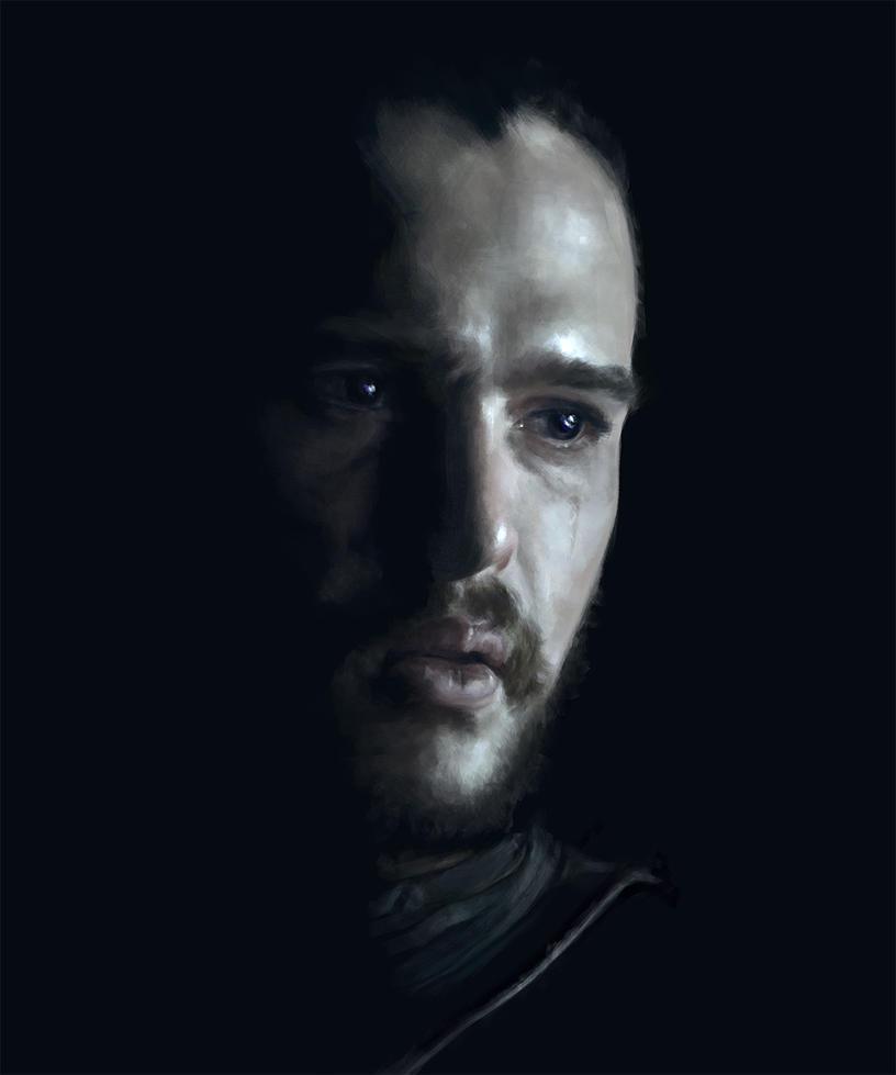Jon Snow / Kit Harington by GrayscaleArt