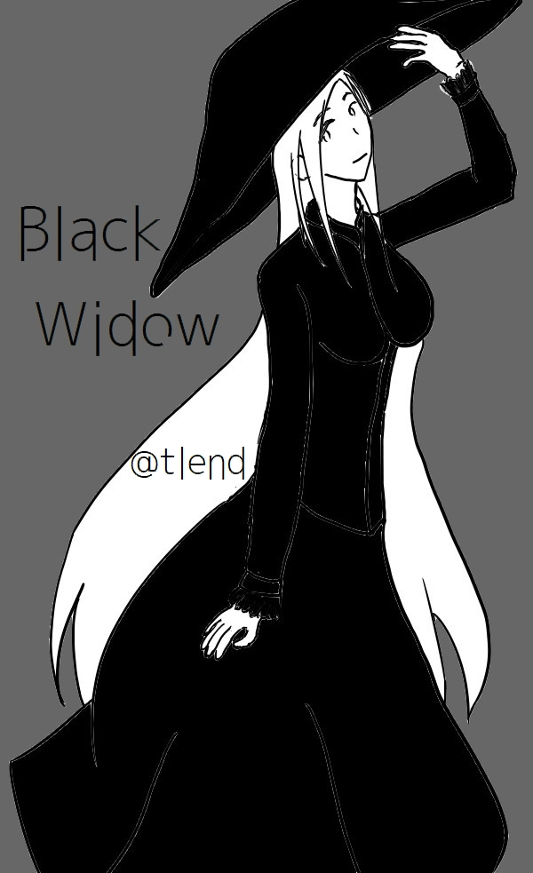 BLACK WIDOW...? by tlend