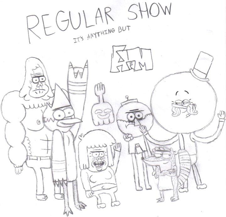 regular show cast by syrupsammyhammy2713 on deviantart