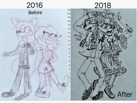 Draw This Again 2016 VS 2018