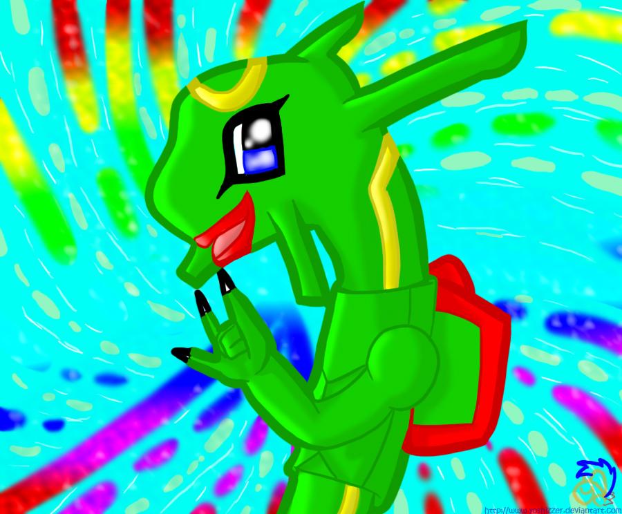 .::Chibi Rayquaza's Rave::. by Yoshizzer on DeviantArt