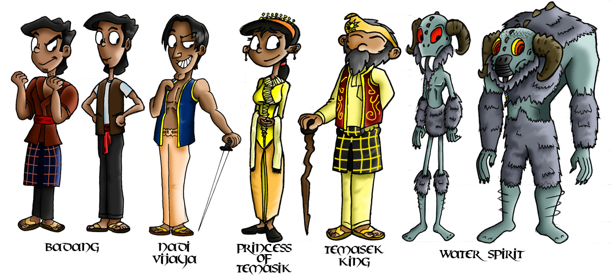 Badang Cast by Kroizat