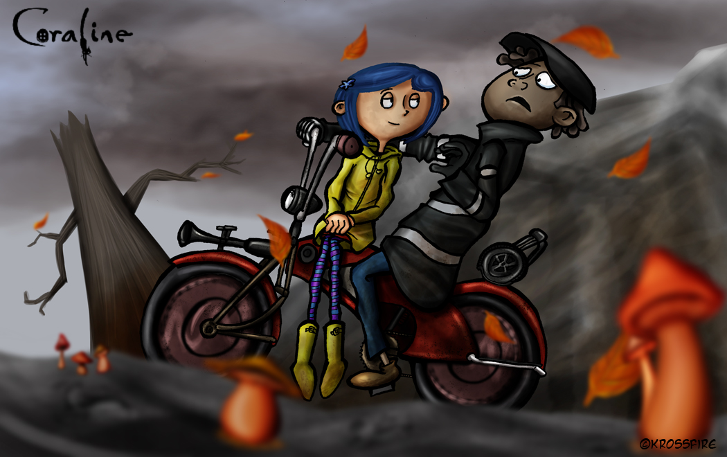 Norman And Coraline Kiss: Coraline And Wybie By Kroizat On DeviantArt