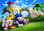 Sonic and Tails Rest
