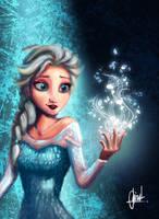 Elsa - Frozen by Kroizat