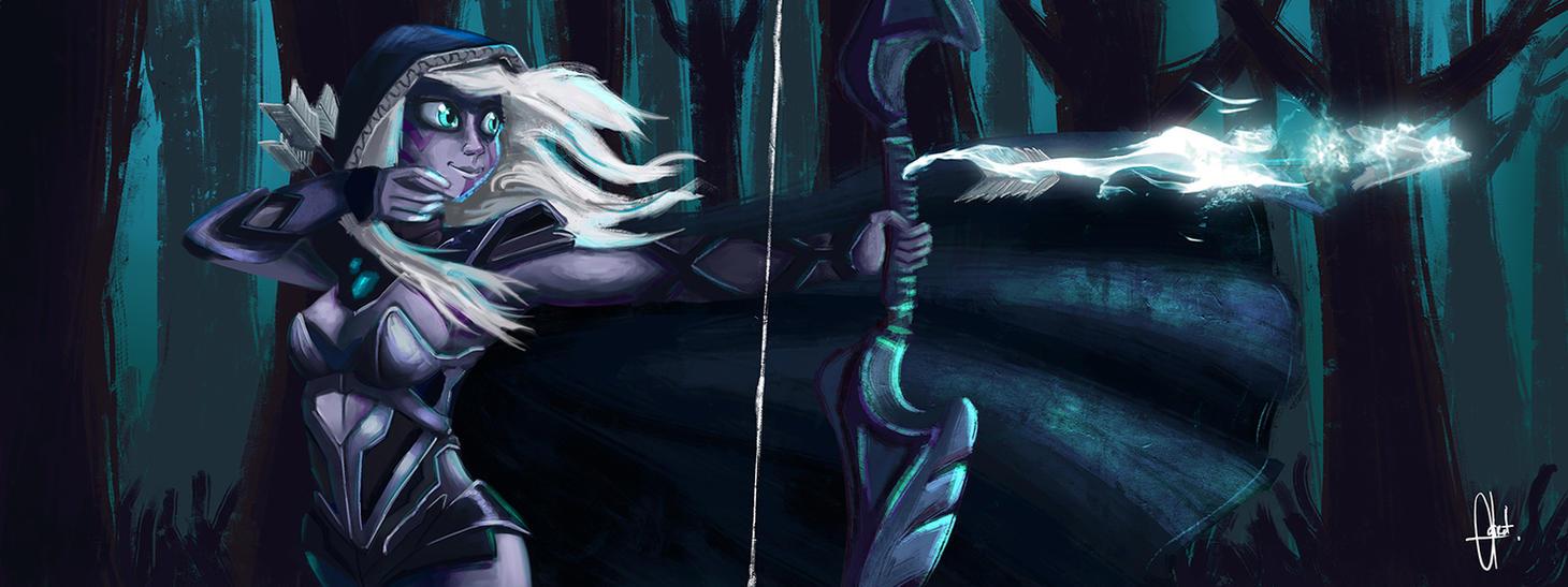 Drow Ranger Dota 2 Immortals: Dota 2 By Kroizat On DeviantArt