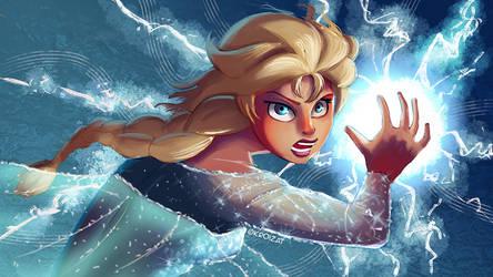 Elsa - Icy Blast 02 by Kroizat