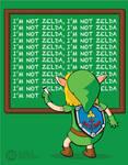 zelda... I mean LINK