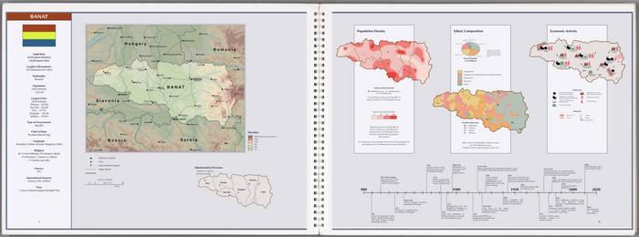 CIA Atlas of Eastern Europe: Republic of Banat