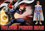 FALCON PUNCH MAN - Cartoon Hooligans Contest