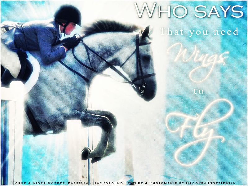 Who Says You Need Wings to Fly