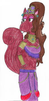 Humparelda the Squamel