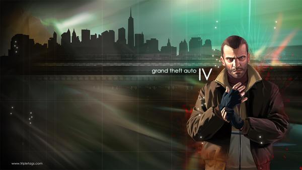 Grand Theft Auto IV - Niko by vonbmac