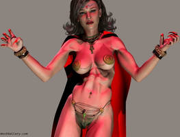 Vampire True Blood Hunger Games Catfight by westcat
