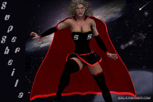 Super Sheila from the Land of the GalaxiBabes by westcat