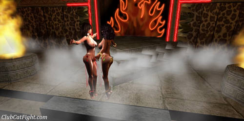 Pre CatFight Sexy Hot Challenge Dance by westcat