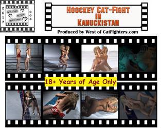 Hockey Catball Catfight by westcat