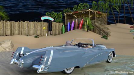 Summer Beach Heat by westcat