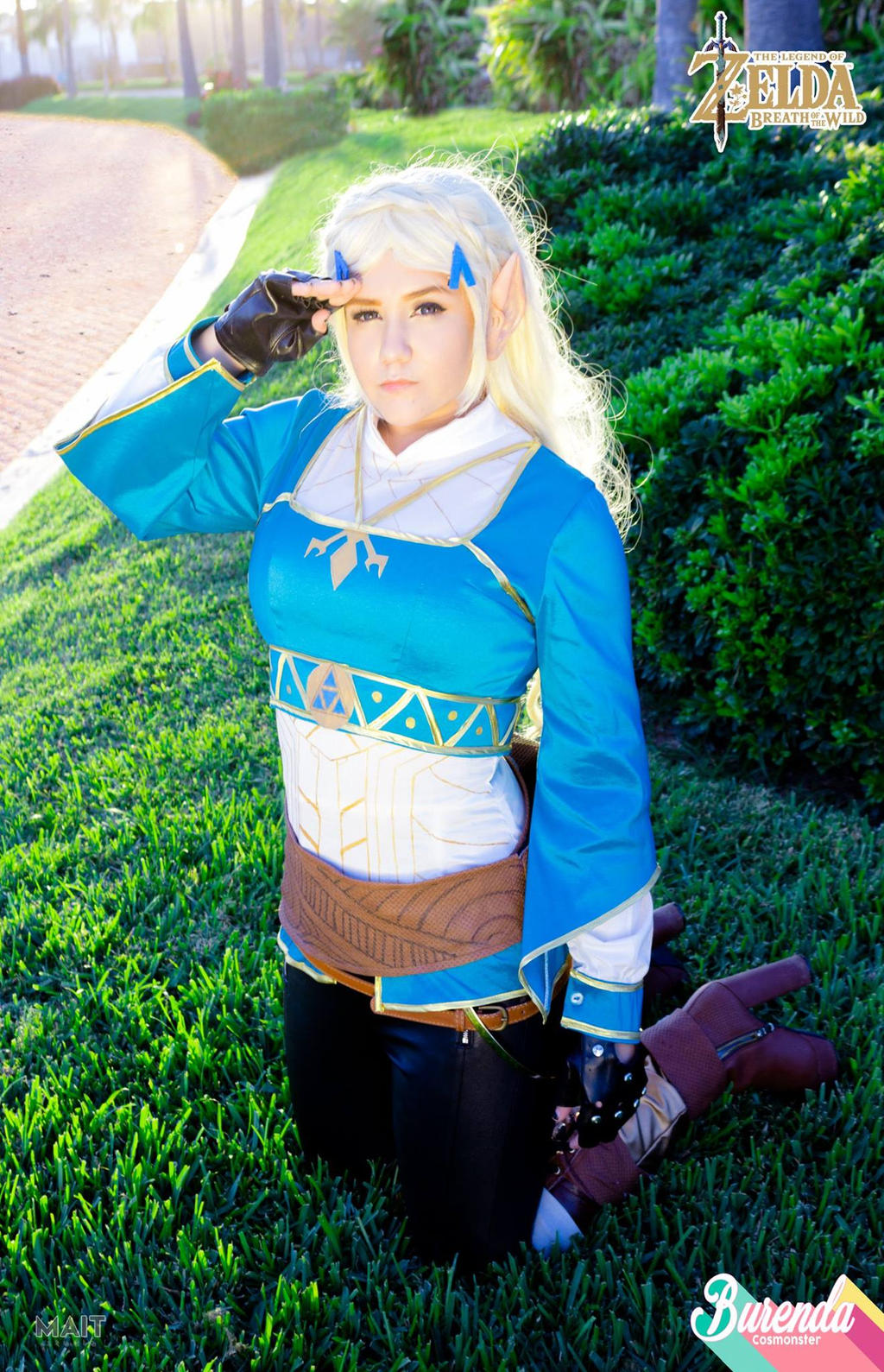 Tloz Breath Of The Wild Princess Zelda Cosplay By