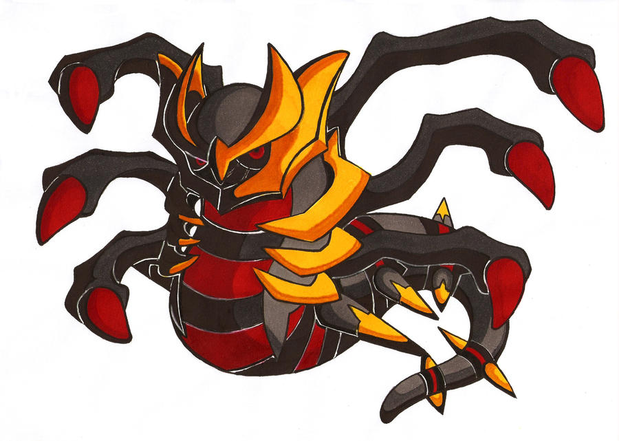Giratina (origin form) by LetsongAkemi on DeviantArt