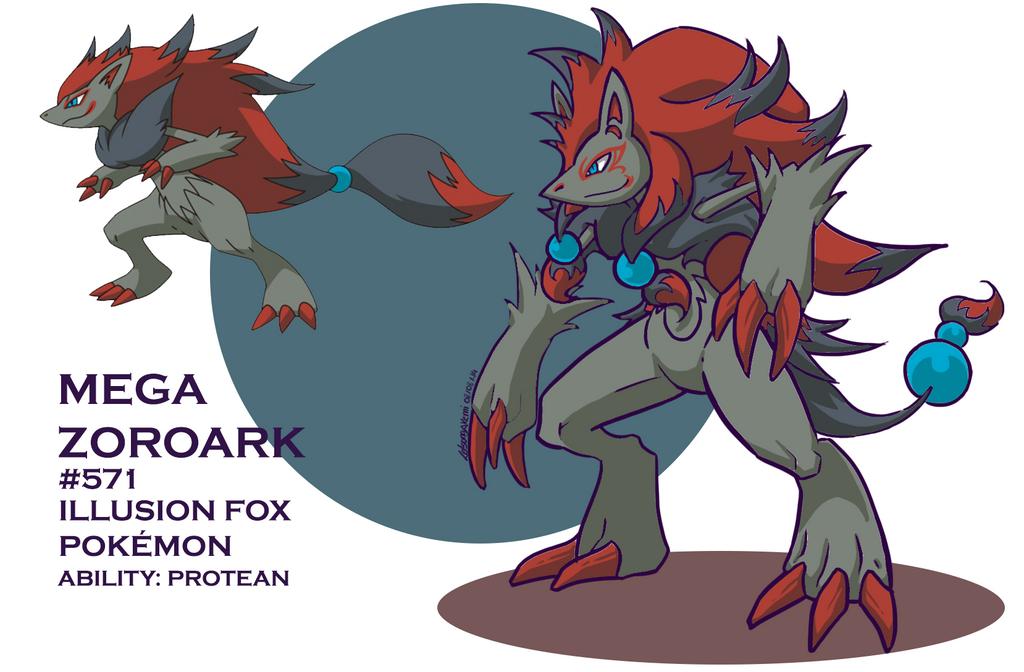 Mega Zoroark by Letson...