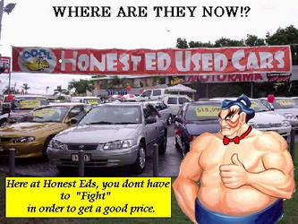 HONEST EDS USED CARS by JunkoInc