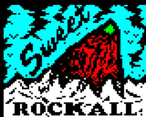 Sweet Rockall // Teletext art