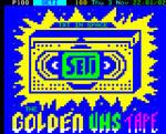 Golden VHS Tape Teletext Art