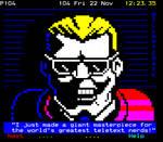 Max Headroom incident hijacker - teletext