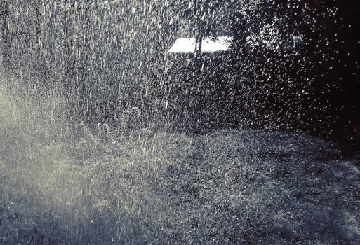 Shrine in the Rain