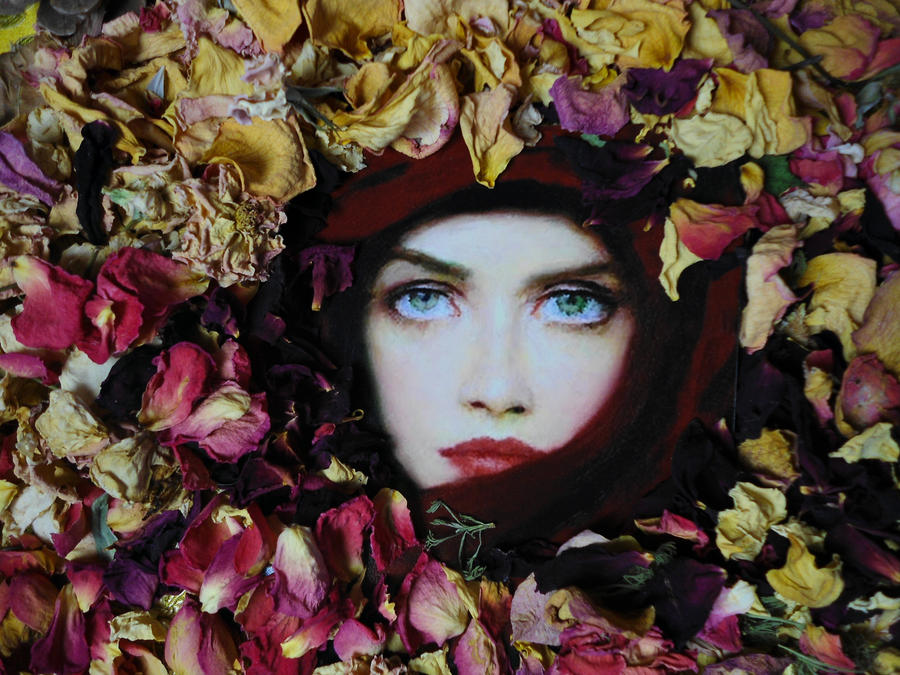 Taras Loboda with roses by Phaedris
