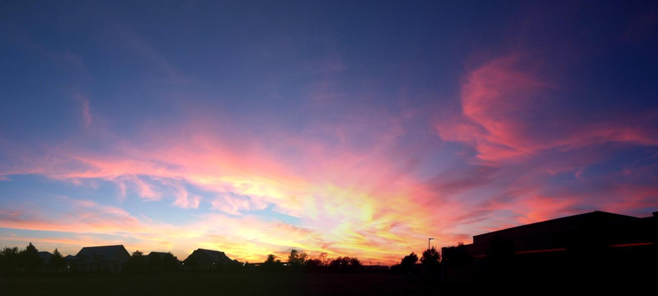 Sunset Grapevine TX 2014_1017 by Phaedris