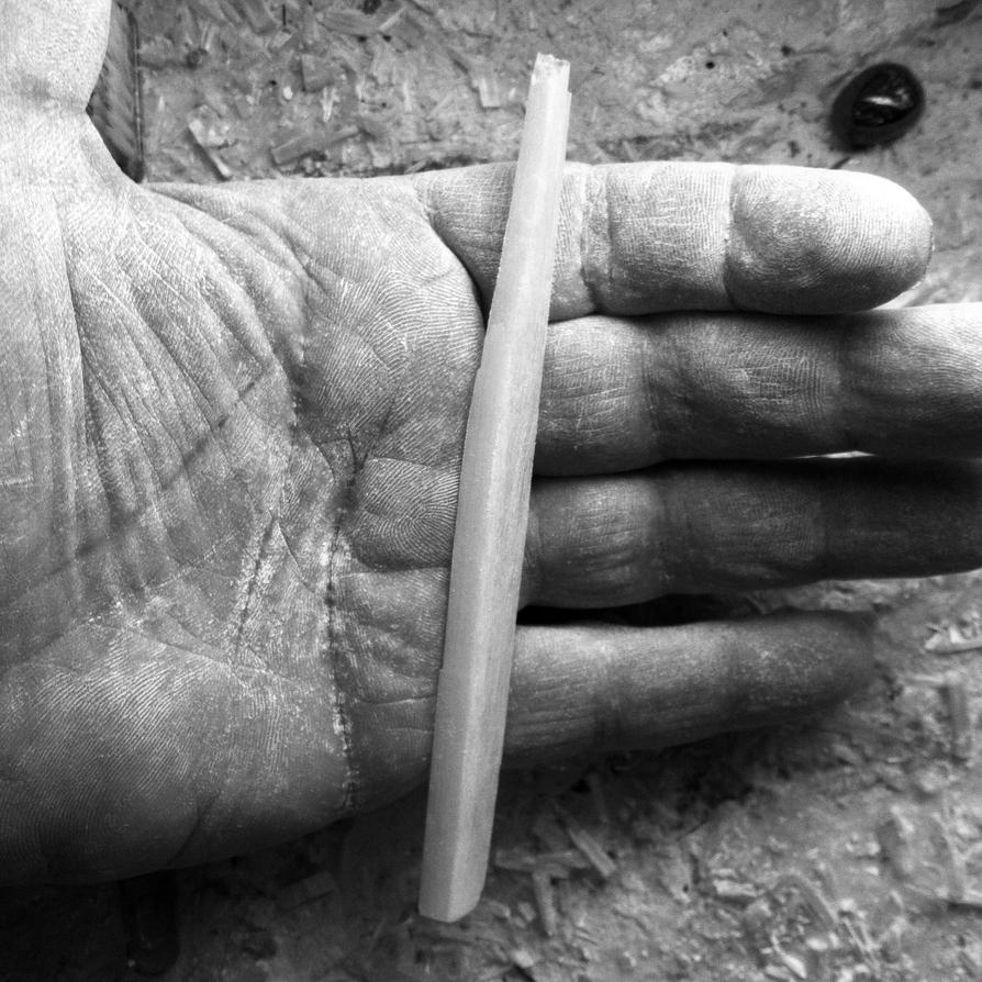 Selenite wand by Phaedris