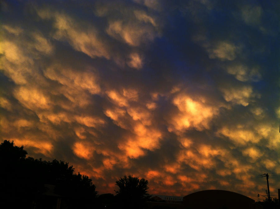 Sunset Grapevine TX 2015_0525 by Phaedris
