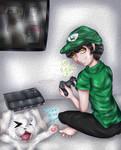 Fernanfloo Anime By Fanny Alcala