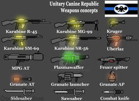 UCR weapon concepts