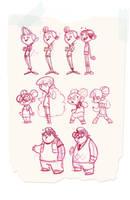 sketches by JGecek
