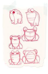 frogs by JGecek