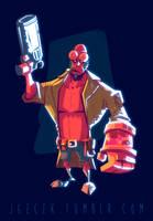 Hellboy by JGecek