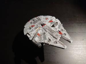 Millennium falcon - Bandai Model (1)