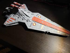 Republic Star Destroyer - Revell model (1)